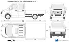 Volkswagen Crafter 35 MWB Tipper Double Cab