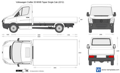 Volkswagen Crafter 35 MWB Tipper Single Cab