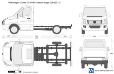 Volkswagen Crafter 35 SWB Chassis Single Cab