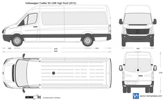 Volkswagen Crafter 50 LWB High Roof