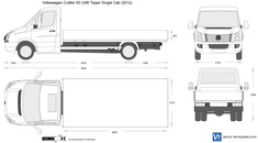 Volkswagen Crafter 50 LWB Tipper Single Cab