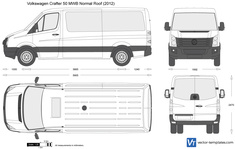 Volkswagen Crafter 50 MWB Normal Roof