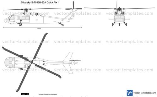Sikorsky S-70 EH-60A Quick Fix II
