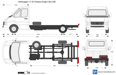 Volkswagen LT 35 Chassis Single Cab LWB
