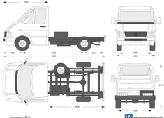 Volkswagen LT 35 Chassis Single Cab SWB