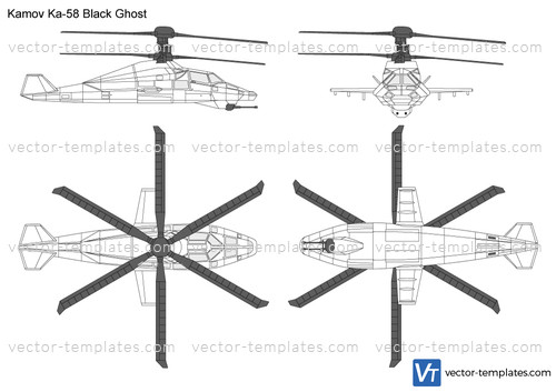 Kamov Ka-58 Black Ghost