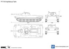 PT-76 Amphibious Tank