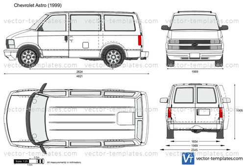 Templates - Cars - Chevrolet - Chevrolet Astro