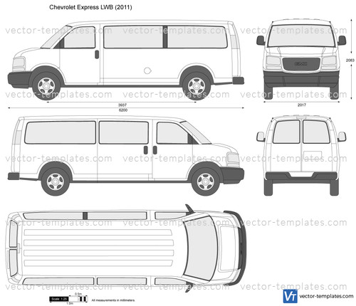 Templates Cars Chevrolet Chevrolet Express Lwb