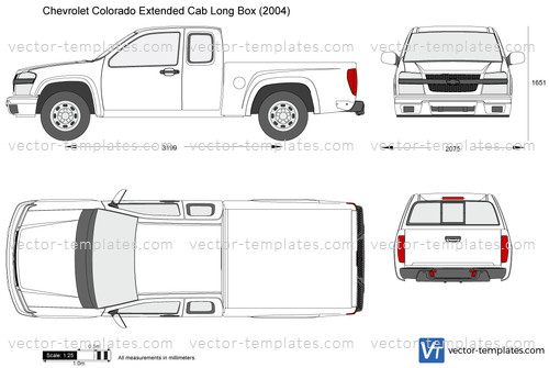 Templates - Cars - Chevrolet - Chevrolet Colorado Extended ...