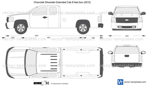 Templates - Cars - Chevrolet - Chevrolet Silverado ...