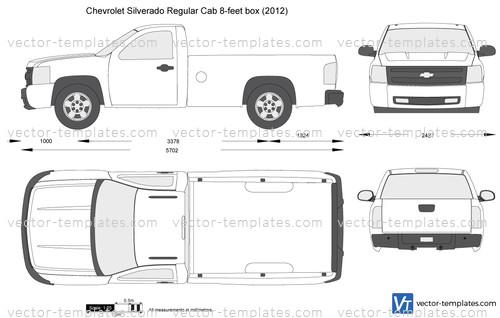 Templates Cars Chevrolet Chevrolet Silverado Regular