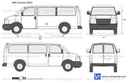 Templates - Cars - GMC - GMC Savana