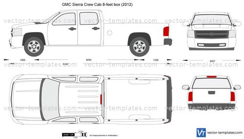GMC Sierra Crew Cab 8-feet box