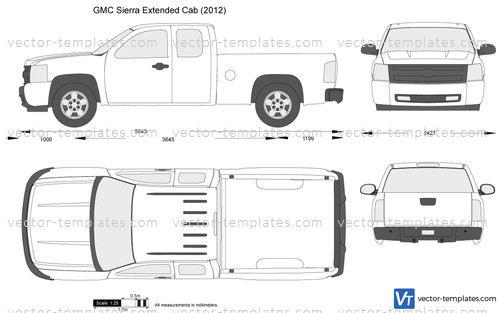 templates - cars - gmc