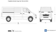Freightliner Sprinter Cargo Van 144-inch