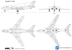 Tupolev Tu-104 Camel