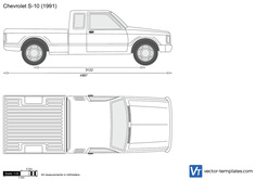 Chevrolet S-10 Extended Cab