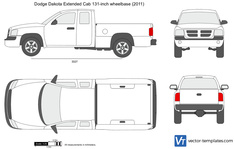 Dodge Dakota Extended Cab 131-inch wheelbase