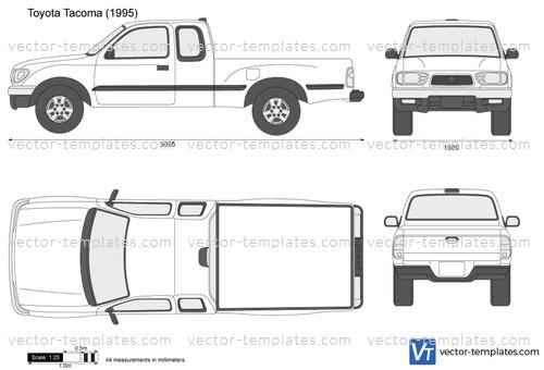 Templates Cars Toyota Toyota Tacoma