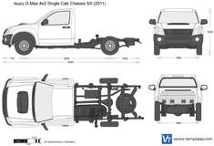 Isuzu D-Max 4x2 Single Cab Chassis SX