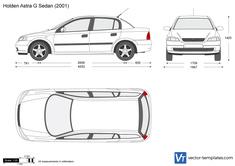 Holden Astra G Sedan