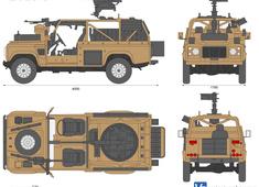 Land Rover Wolf