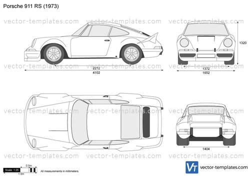 templates - cars - porsche