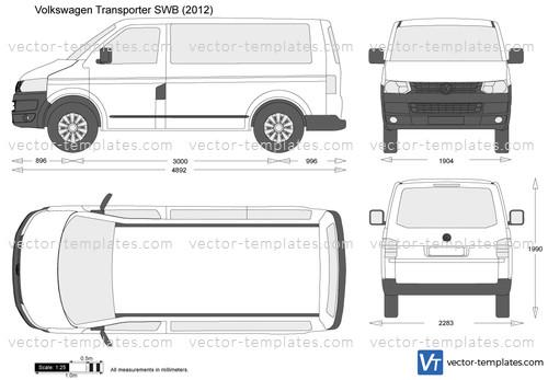 Volkswagen Transporter T5.2 SWB