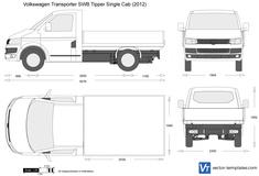 Volkswagen Transporter T5.2 SWB Tipper Single Cab