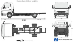 Mitsubishi Canter 3C Single Cab
