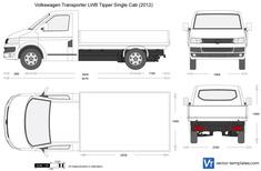 Volkswagen Transporter T5.2 LWB Tipper Single Cab