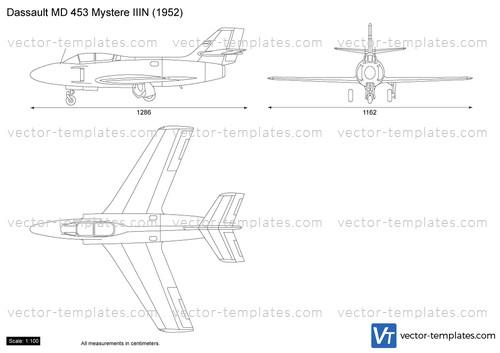 Dassault MD 453 Mystere IIIN