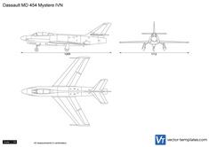 Dassault MD 454 Mystere IVN