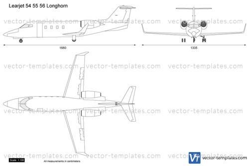 Learjet 54 55 56 Longhorn