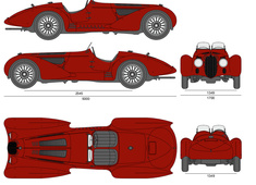Alfa Romeo 8C 2900B Mille Miglia Roadster