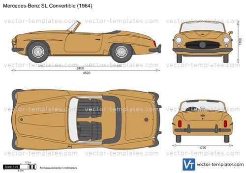 Mercedes-Benz 190SL Convertible R121