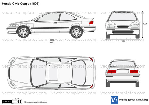 Templates Cars Honda Honda Civic Coupe