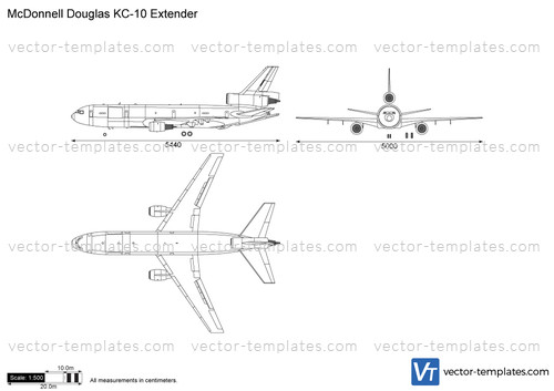 templates - modern airplanes