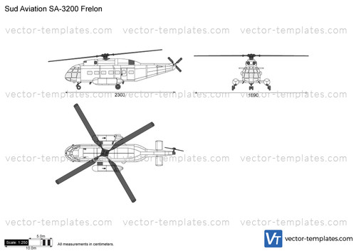 Sud Aviation SA-3200 Frelon