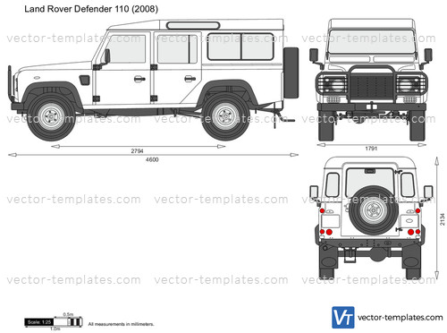 2015 Range Rover Price >> Templates - Cars - Land Rover - Land Rover Defender 110