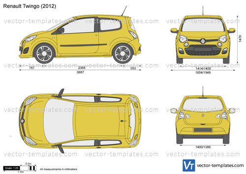 templates cars renault renault twingo. Black Bedroom Furniture Sets. Home Design Ideas