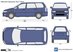 Mitsubishi Spacestar GLX 7-Seat