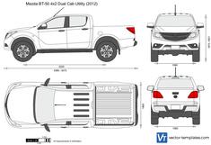 Mazda BT-50 4x2 Dual Cab Utility