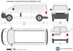 Volkswagen Transporter T5 Panel Van LWB Medium Roof