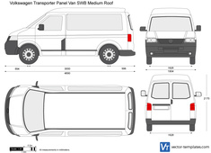 Volkswagen Transporter T5 Panel Van SWB Medium Roof
