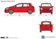 Opel Corsa D 5-Door