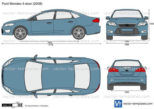 Ford Mondeo 4-door