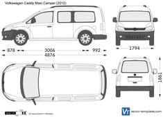Volkswagen Caddy Maxi Camper