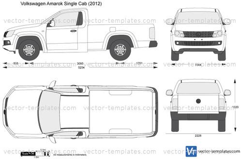 Volkswagen Amarok Single Cab